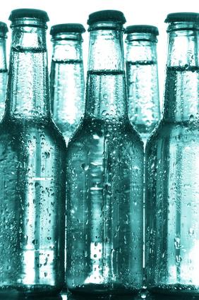 Gekühlte Wasserflaschen immer zur Hand