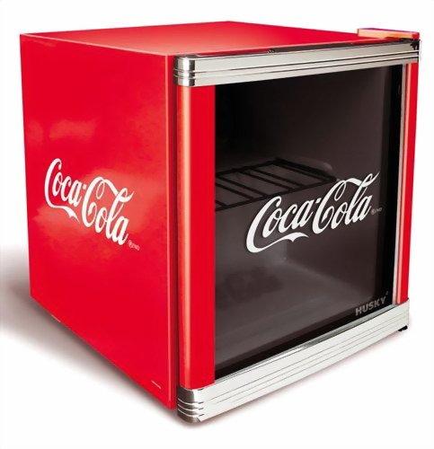 Husky HUS-CC 165 Flaschenkühlschrank Coca-Cola (Foto: Amazon)