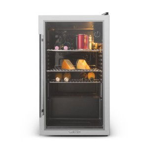 Klarstein Beersafe XXL Standkühlschrank: Getränkekühlschrank mit Glastür - Foto: Amazon